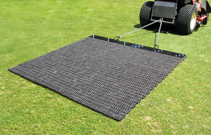 Rubber Drag Mat Earth And Turf Attachments